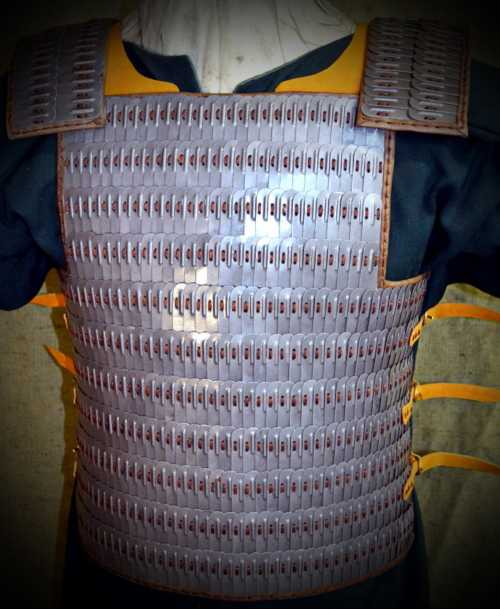 Armour from Birka (scales F). X-XI A.D.
