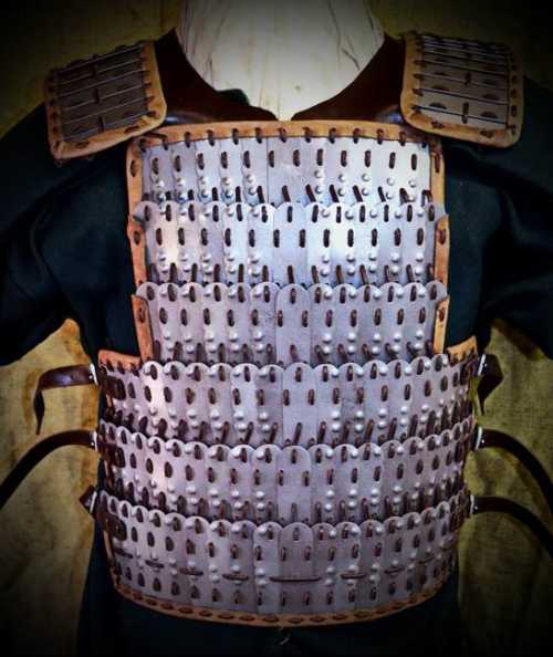 Armour from Birka (with bosses). X A.D.