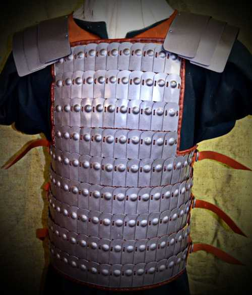 Armour from Bek-Biike. VIII-XII A.D.