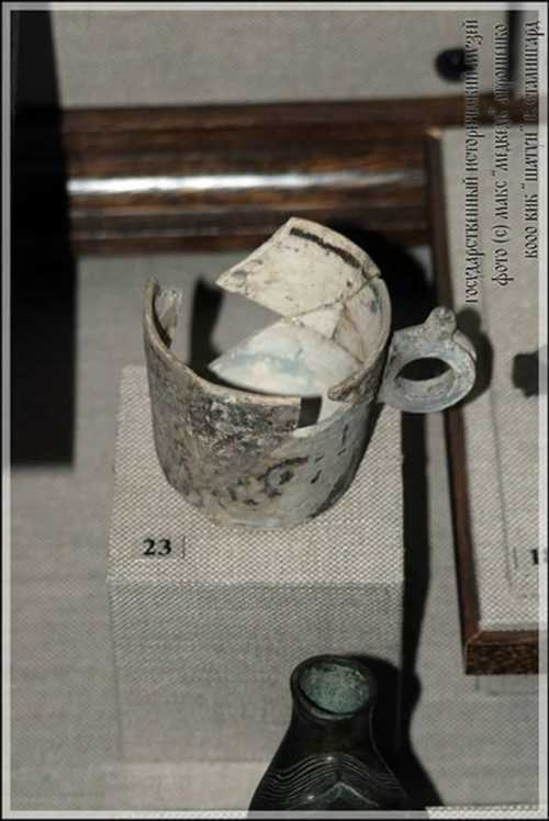 Cup from Gnezdovo. X century.