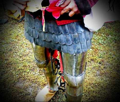 Squama skirt for Late Medieval armour set