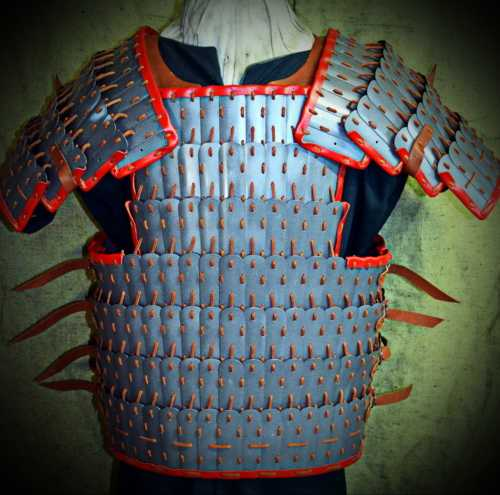 Armour from Shestovica (with long shoulders). X-XI A.D.