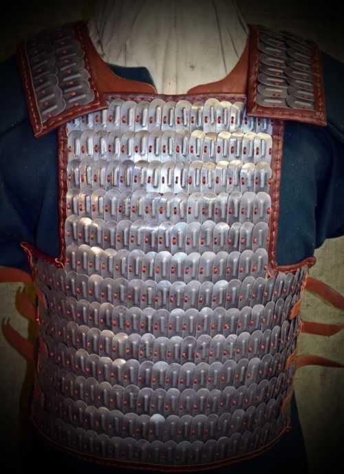 Armour from Veliki Preslav (with long boss). X-XI A.D.