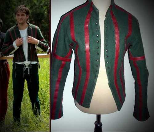 Arming doublet. XIV-XV century. Hand-stitched.