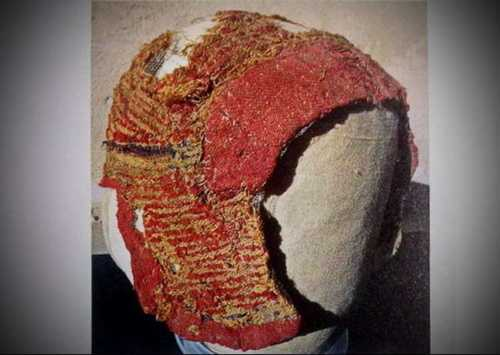 Arming cap from Roman Egypt, padded.