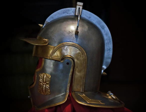 New type Roman helmet was made. In 2 decorative versions.