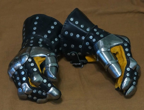Visby armored gloves, new photos.