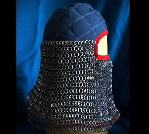 Arming cap, padded (long version)