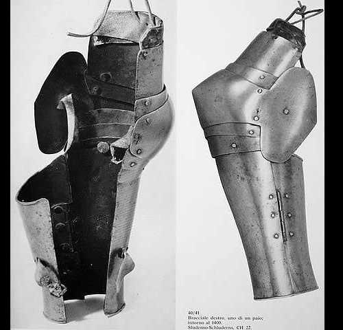 Greaves two-leaved, XIV-XV A.D.
