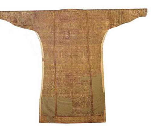 Reconstruction of the silk after the dalmatica of Saint Ulrich. Byzantium, X A.D.