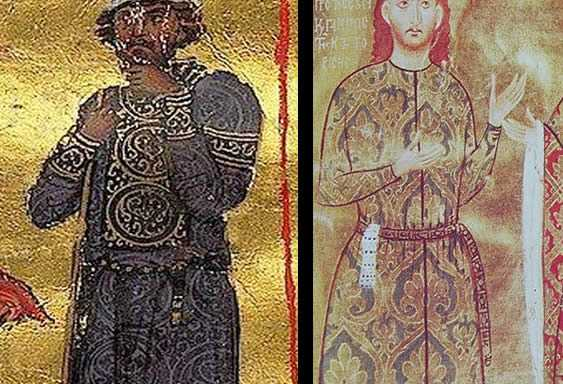 About the Byzantine decorated belts with moulds and strap ends.