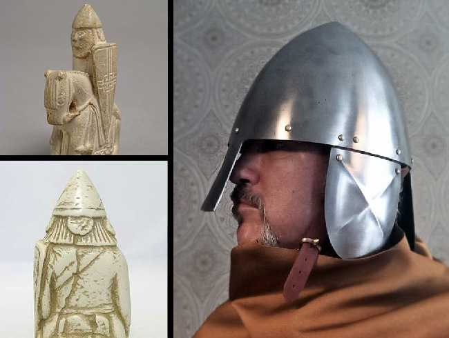 New helmet after the Lewis chess.