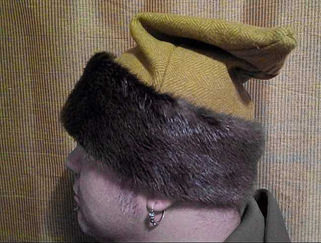Fur hats are available on demand!