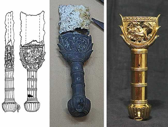 New hilt from the Serce Limani Shipwreck soon in stock.